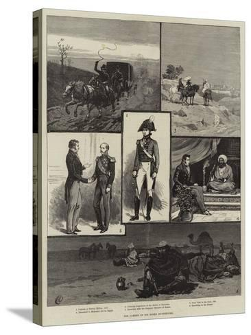 The Career of Sir Moses Montefiore-Frank Dadd-Stretched Canvas Print