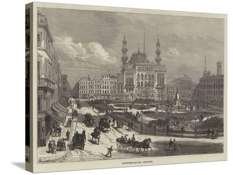 Leicester-Square, Restored-Frank Watkins-Stretched Canvas Print