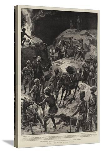 With the Tirah Field Force-Frank Dadd-Stretched Canvas Print