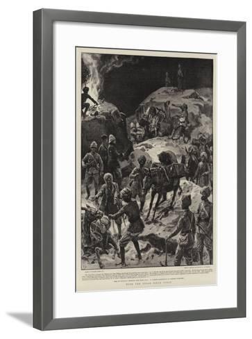 With the Tirah Field Force-Frank Dadd-Framed Art Print