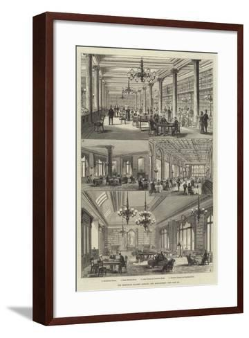 The Grosvenor Gallery Library, New Bond-Street-Frank Watkins-Framed Art Print
