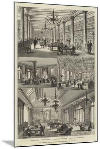The Grosvenor Gallery Library, New Bond-Street-Frank Watkins-Mounted Giclee Print