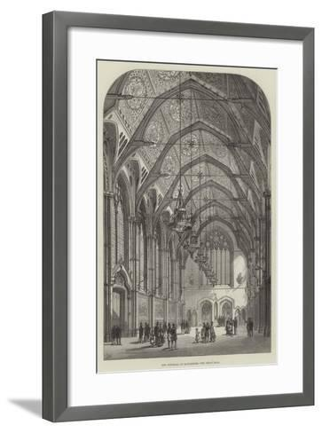 New Townhall at Manchester, the Great Hall-Frank Watkins-Framed Art Print