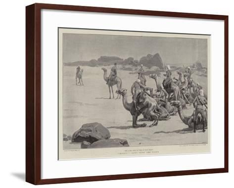 Mount!, News from the Front-Frank Dadd-Framed Art Print