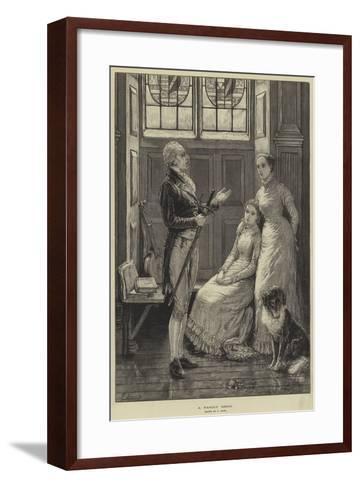 A Family Relic-Frank Dadd-Framed Art Print