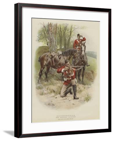 The Mounted Infantry-Frank Dadd-Framed Art Print