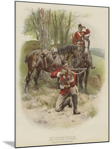The Mounted Infantry-Frank Dadd-Mounted Giclee Print