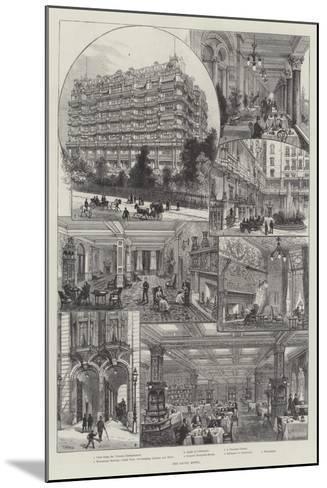 The Savoy Hotel-Frank Watkins-Mounted Giclee Print