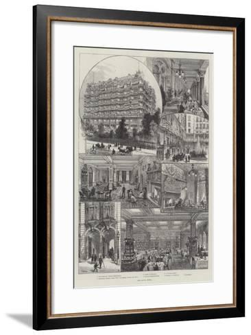 The Savoy Hotel-Frank Watkins-Framed Art Print