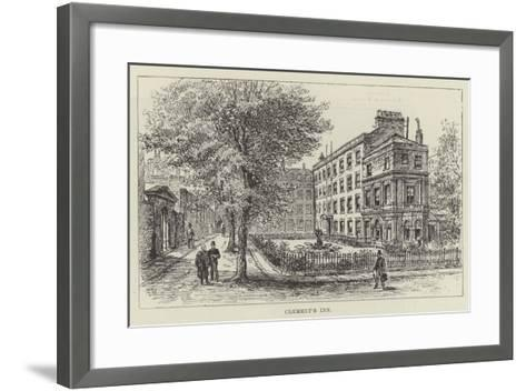 Clement's Inn-Frank Watkins-Framed Art Print