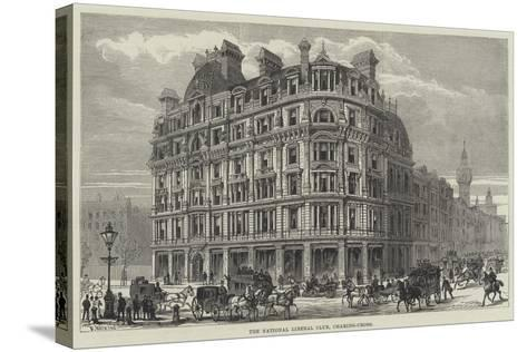 The National Liberal Club, Charing-Cross-Frank Watkins-Stretched Canvas Print