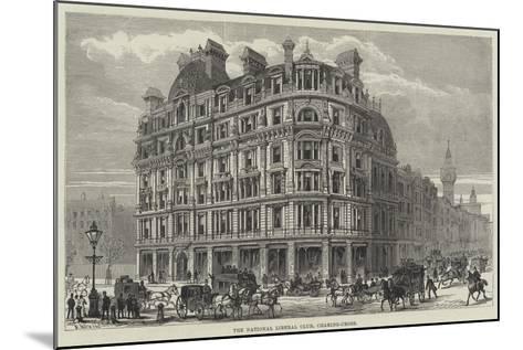 The National Liberal Club, Charing-Cross-Frank Watkins-Mounted Giclee Print