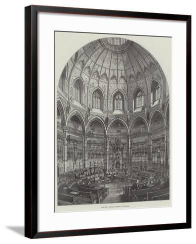 The New Council Chamber, Guildhall-Frank Watkins-Framed Art Print