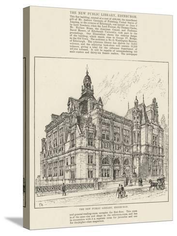 The New Public Library, Edinburgh-Frank Watkins-Stretched Canvas Print
