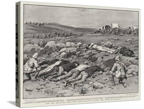 How the Prisoners Were Kept from Escaping During the Fight at Graspan-Frank Dadd-Stretched Canvas Print