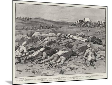 How the Prisoners Were Kept from Escaping During the Fight at Graspan-Frank Dadd-Mounted Giclee Print