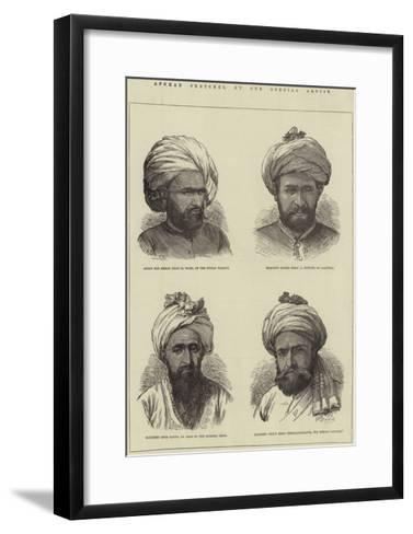 Afghan Sketches-Frank Dadd-Framed Art Print