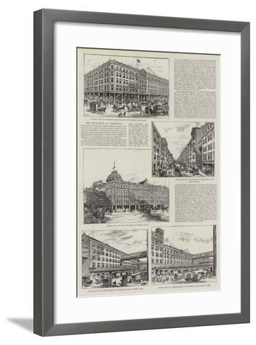 Advertisement, Maple and Company-Frank Watkins-Framed Art Print