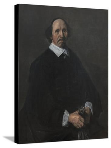 Portrait of a Man, C. 1655-60-Frans Hals-Stretched Canvas Print