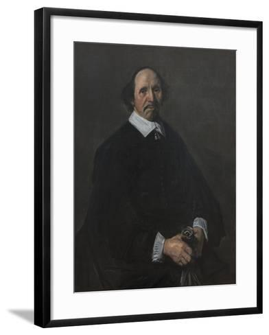 Portrait of a Man, C. 1655-60-Frans Hals-Framed Art Print