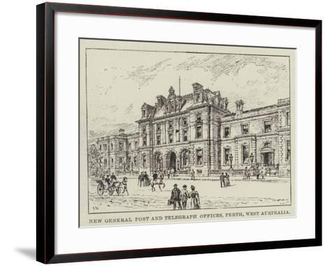 New General Post and Telegraph Offices, Perth, West Australia-Frank Watkins-Framed Art Print