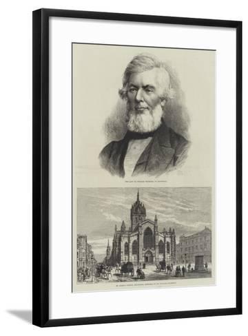 The Death of William Chambers-Frank Watkins-Framed Art Print