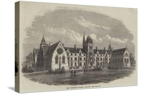 New Wesleyan College, Belfast-Frank Watkins-Stretched Canvas Print