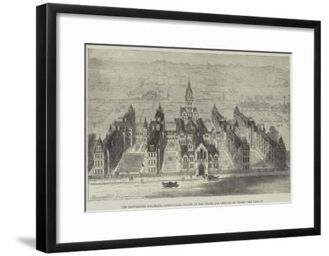 The Marylebone Infirmary, Notting-Hill, Opened by the Prince and Princess of Wales-Frank Watkins-Framed Art Print