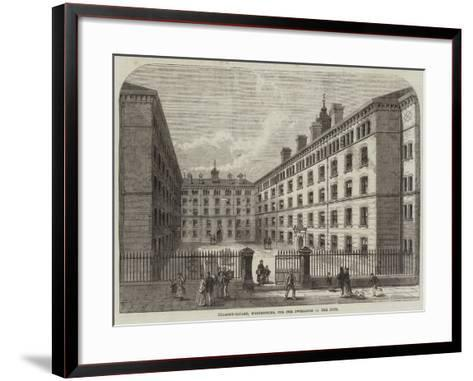 Peabody-Square, Westminster, for the Dwellings of the Poor-Frank Watkins-Framed Art Print
