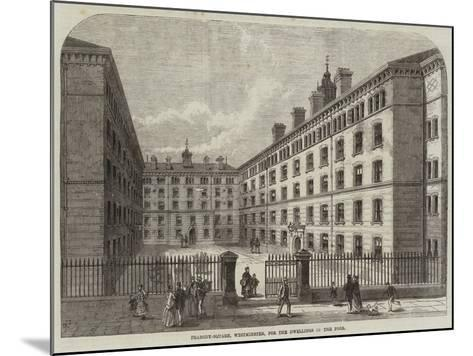 Peabody-Square, Westminster, for the Dwellings of the Poor-Frank Watkins-Mounted Giclee Print