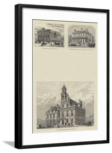 Sketches of Great Yarmouth-Frank Watkins-Framed Art Print