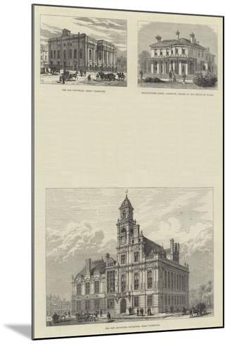 Sketches of Great Yarmouth-Frank Watkins-Mounted Giclee Print