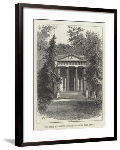 The Royal Mausoleum at Charlottenburg, Near Berlin-Frank Watkins-Framed Art Print