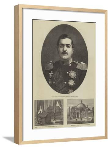 Russo-Turkish War-Frank Watkins-Framed Art Print