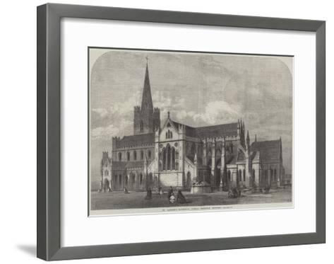 St Patrick's Cathedral, Dublin, Recently Restored-Frank Watkins-Framed Art Print