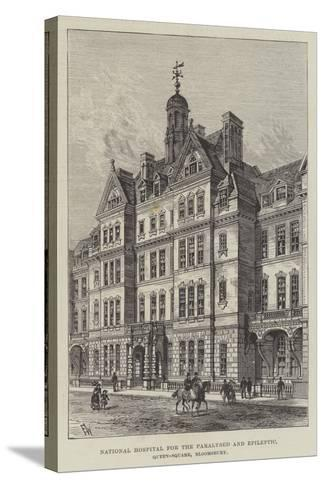 National Hospital for the Paralysed and Epileptic, Queen-Square, Bloomsbury-Frank Watkins-Stretched Canvas Print
