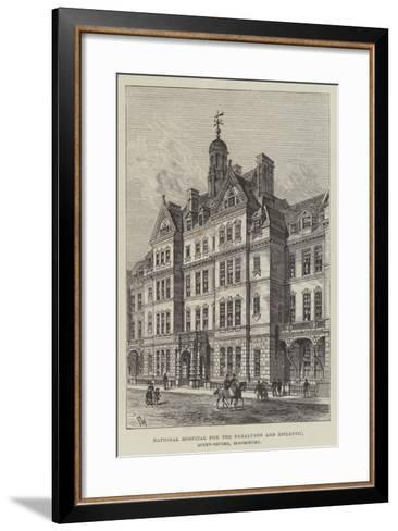 National Hospital for the Paralysed and Epileptic, Queen-Square, Bloomsbury-Frank Watkins-Framed Art Print