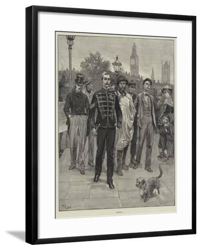 Recruits-Frank Dadd-Framed Art Print