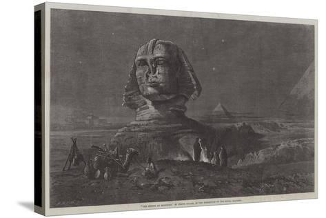 The Sphinx at Midnight, in the Exhibition of the Royal Academy-Frank Dillon-Stretched Canvas Print