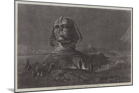 The Sphinx at Midnight, in the Exhibition of the Royal Academy-Frank Dillon-Mounted Giclee Print