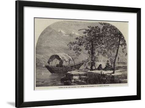 Autumn on the Lago Maggiore-Frank Dillon-Framed Art Print