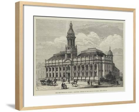 The New Technical School, Bradford, Opened by the Prince of Wales-Frank Watkins-Framed Art Print