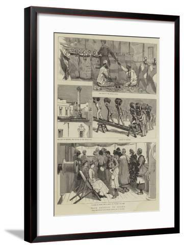From Brindisi to Burma-Frederic Villiers-Framed Art Print