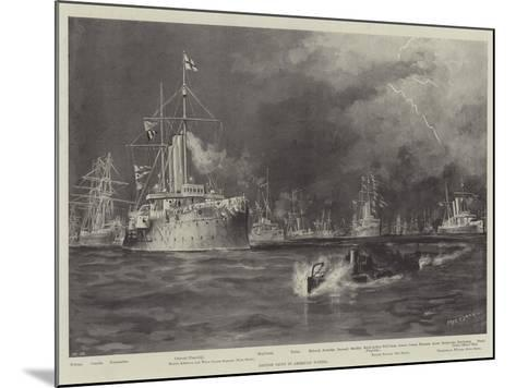 British Ships in American Waters-Fred T. Jane-Mounted Giclee Print