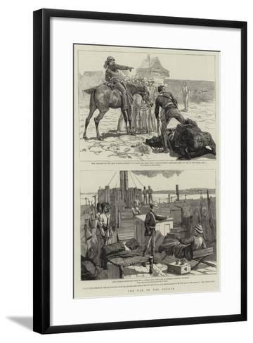 The War in the Soudan-Frederic Villiers-Framed Art Print