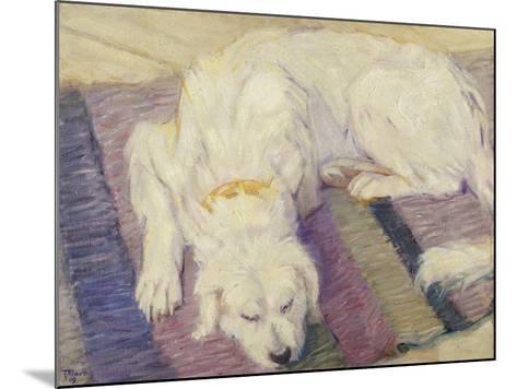 Sleeping Dog, 1909-Franz Marc-Mounted Giclee Print