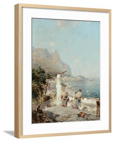 Capri, Golfe De Naples-Franz Richard Unterberger-Framed Art Print