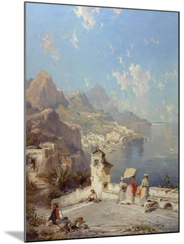 Overlooking Amalfi-Franz Richard Unterberger-Mounted Giclee Print