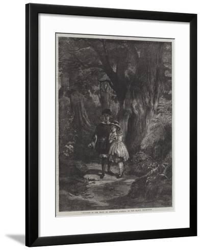 Children in the Wood-Frederick Goodall-Framed Art Print