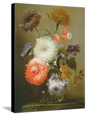 Still Life of Flowers, 1699-Franz Werner Tamm-Stretched Canvas Print